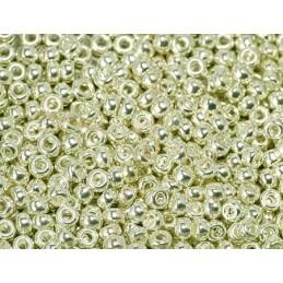 Rocaille 11/0 Miyuki silver galvanized