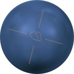 Swarovski boules nacrée 10mm demi percée Lapis Pearl