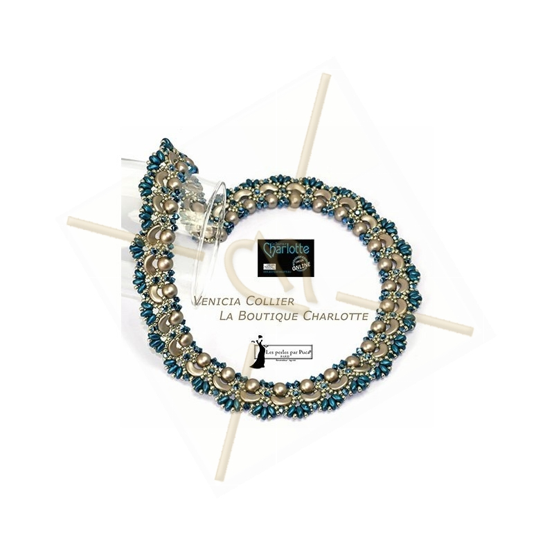 Pattern necklace Venicia