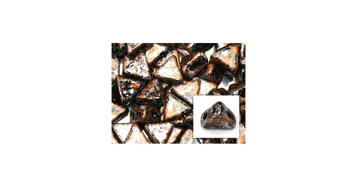 Kheops® Par Puca® perles 6mm Tweedy Light copper