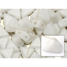 Kheops® Par Puca® beads 6mm Opaque White