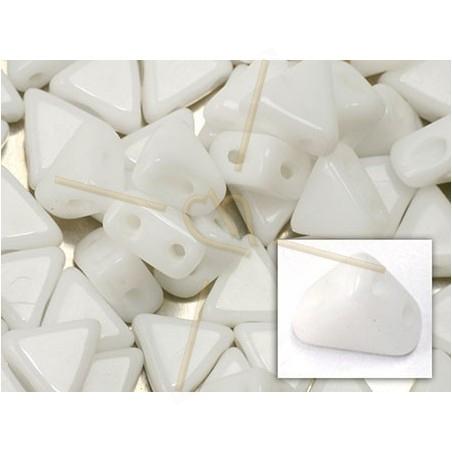 Kheops® Par Puca® perles 6mm Opaque White