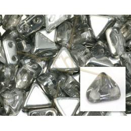 Kheops® Par Puca® kralen 6mm Crystal silver