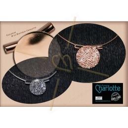 Pellet beads 4*6mm Crystal Labrador