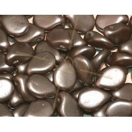Pip-beads 5*7mm Pastel Lt. Brown