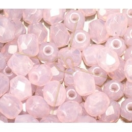 Perles a facettes 4mm  Pink Opal