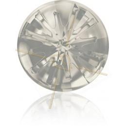 Swarovski Sea Urchin 14mm Silver Shade
