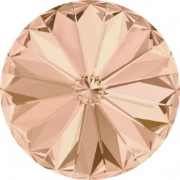 1122 - 10mm Rivoli Swarovski Light Peach 362