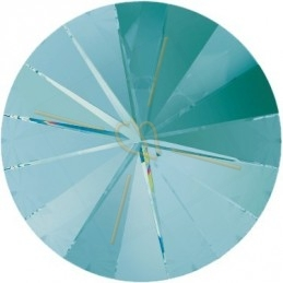 1122 - 10mm Rivoli Swarovski Light Turquoise 263
