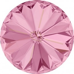 1122 - 06mm Rivoli Swarovski Light Rose 223