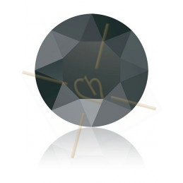1088 - PP18 - 2.5mm Hematite HEM