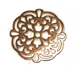 pendentif fleur 43mm