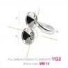 ring zilver .925 voor 2x12mm 1122