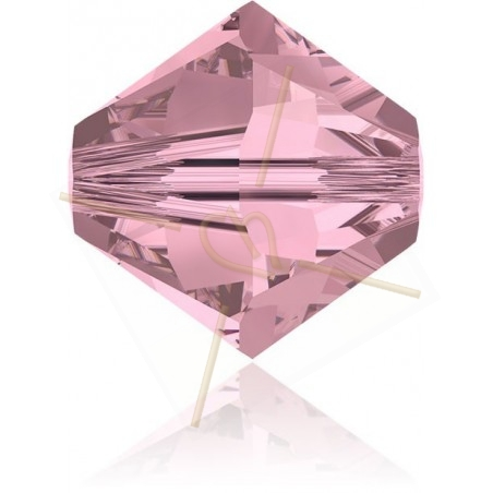 3mm Antique Pink Swarovski Bicone antp