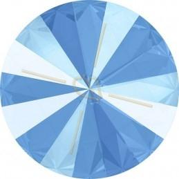 leder plat 10mm zand blauw