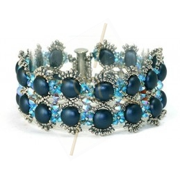Kit Candy armband blauw