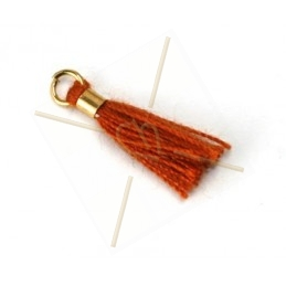 Floche 15mm orange