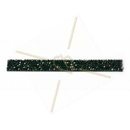 Cristal Fine Rocks Strip 6cm Jet 280