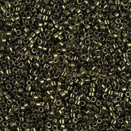 Delica metallic olive