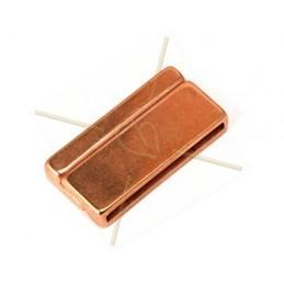 cierre magnetico  30mm rose gold