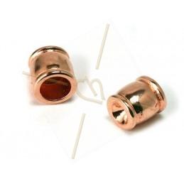 eindstuk 7*6mm houder voor SS19 rose gold