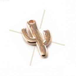 """pendant  """"cactus"""" 12*21mm"""
