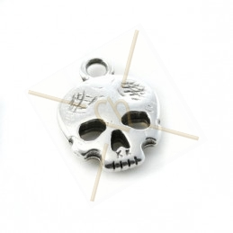 "pendant  ""skull"" 12*11mm"