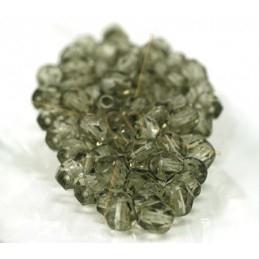Perles a facettes 4mm  Gris