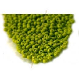 Rocaille 11/0 Vert Opaque