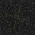 Delica zwart mat
