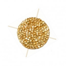 Swarovski Rocks 15mm golden...
