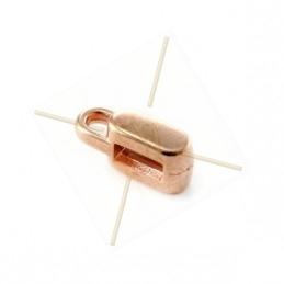 Passant métal 8x5x4mm trou 5.2x2.2mm