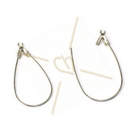 "earrings ""drop"" 32mm"