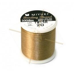 Miyuki Beading Thread Champagne Gold