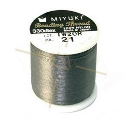 Miyuki Bead Thread Medium Grijs