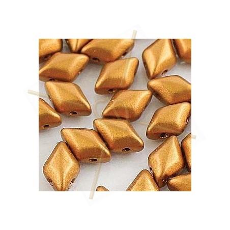 Bronze Gold Gemduo 8*5mm