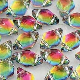Crystal ROCKS 24mm white opal / Black