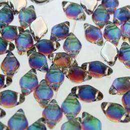 Crystal ROCKS 30mm White Opal / Black