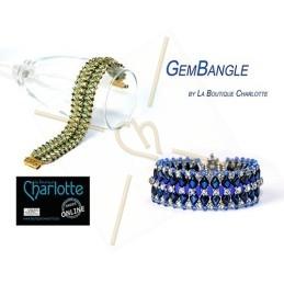 Kit Armband Cristal Rocks crystal AB / light turquoise