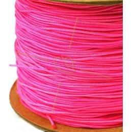 fuchsia polyester cordon 0.4mm