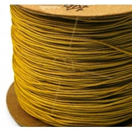 jaune moutarde polyester cordon 0.4mm