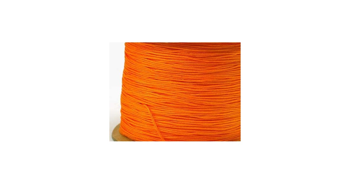 geel fluo polyesterkoord 0.4mm