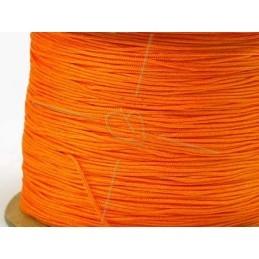 jaune fluo polyester cordon 0.4mm