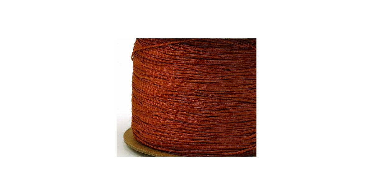 bruin polyesterkoord 0.4mm