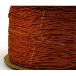 marron polyester cordon 0.4mm