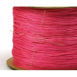 rose polyester cordon 0.4mm