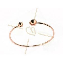"""Bracelet rose gold color """"one Size"""" for Swarovski SS39 en SS24"""