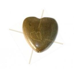 coeur en bois 35mm