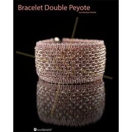 Pattern bracelet Double Peyote