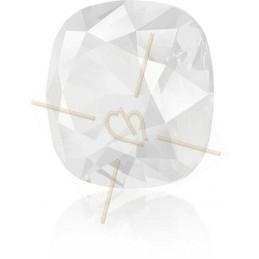 medaillon rond 15mm avec 2 anneaux